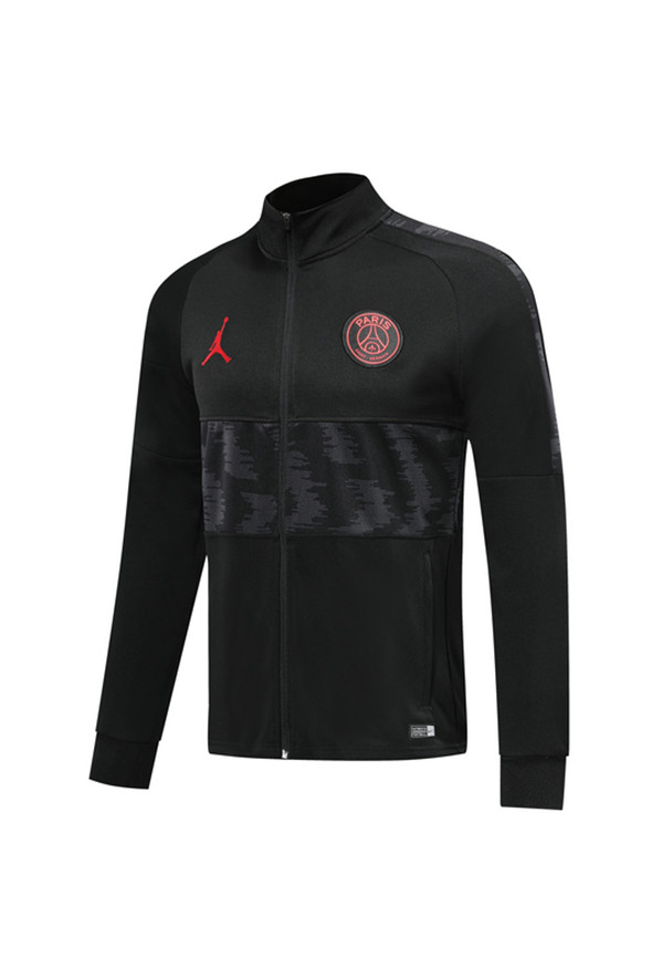 Chaquetas Paris Saint Germain Cenizas negro 2020 Chandal
