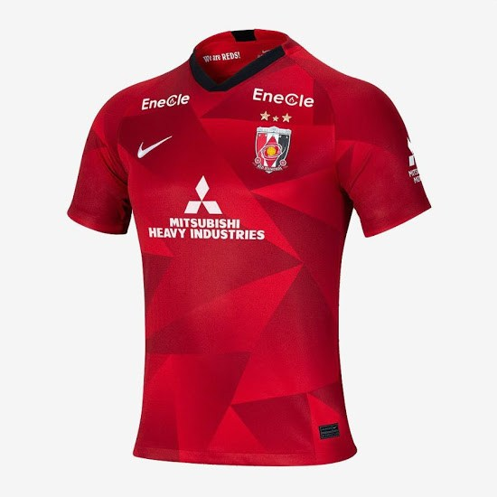primera equipación camiseta Urawa Red Diamonds 2020-2021