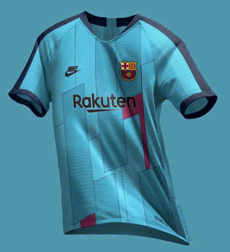 ce09e48958853 tercera equipación camiseta barcelona 2019-2020