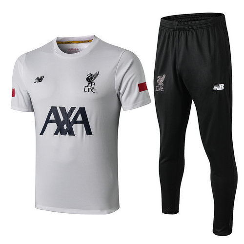 Camiseta polo Liverpool 2019-2020 Blanco