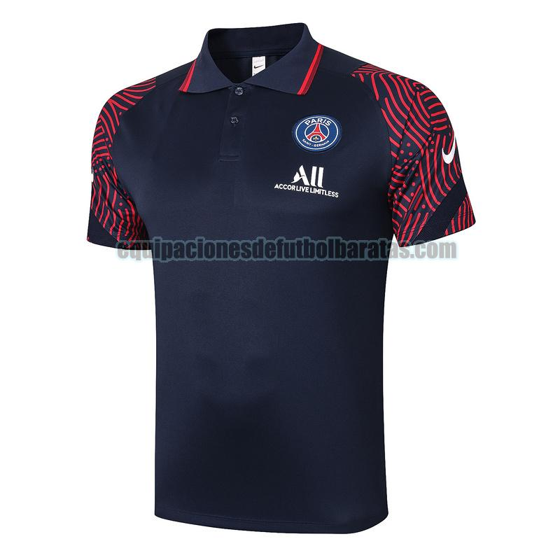 camiseta polo paris saint germain 2020-2021 armada