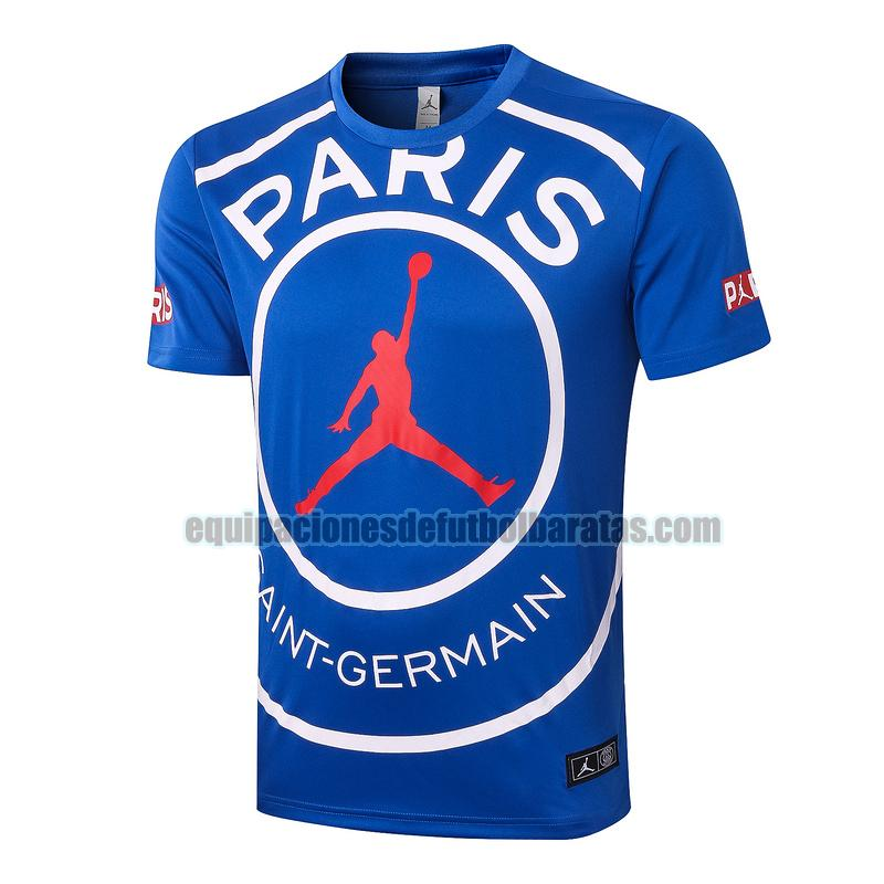 entrenamiento paris saint germain 2020-2021 azul