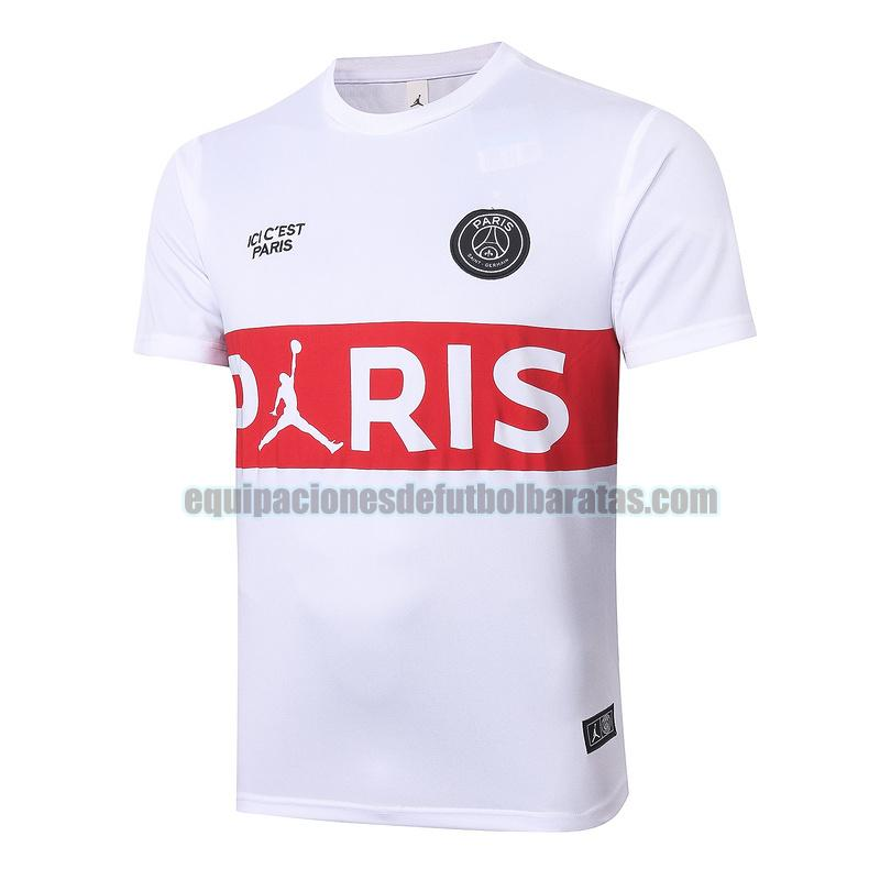entrenamiento paris saint germain 2020-2021 rojo blanco