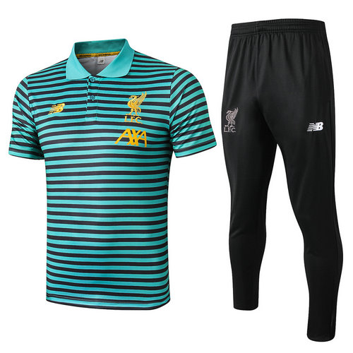 Camiseta polo Liverpool 2020 verde