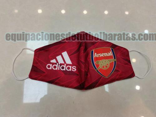 mascaras arsenal 2020-2021 rojo