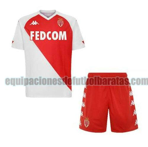 priemra camiseta as monaco 2020-2021 niño