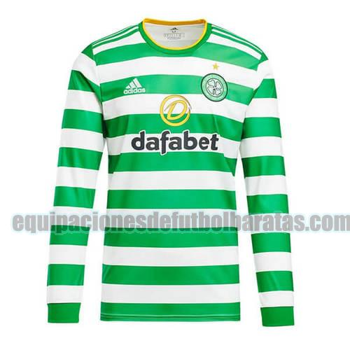 priemra camiseta celtic 2020-2021 manga larga