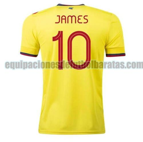 priemra camiseta colombia 2021-2022 james rodriguez 10