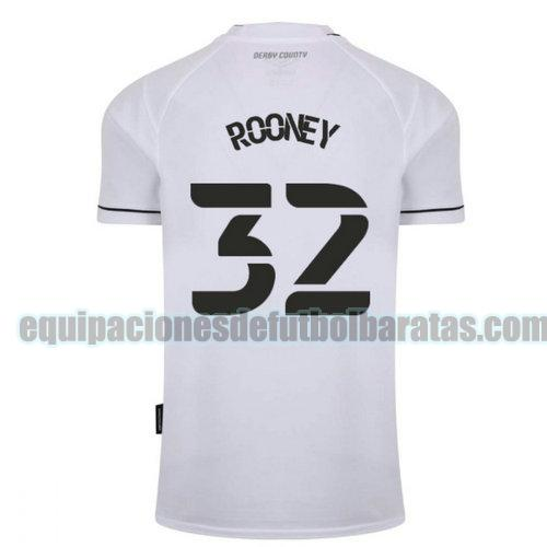 priemra camiseta derby county 2020-2021 rooney 32