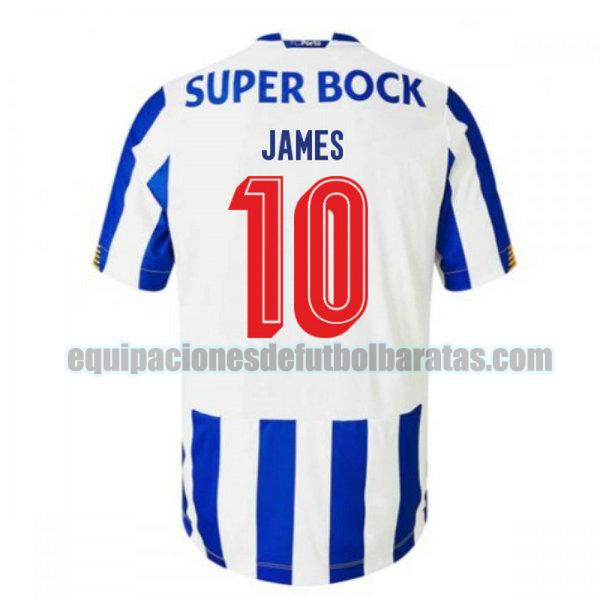 priemra camiseta porto 2020-2021 james 10