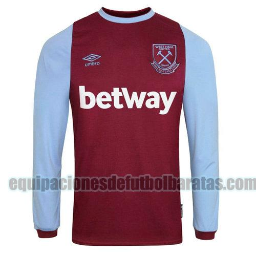 priemra camiseta west ham united 2020-2021 manga larga