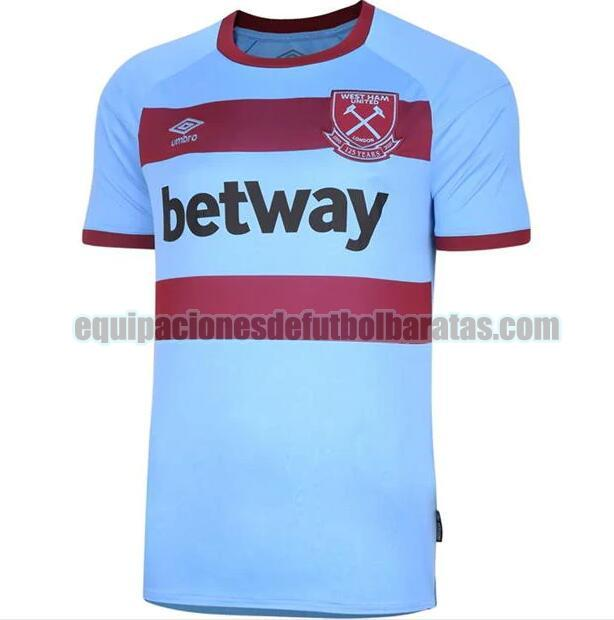 seconda camiseta west ham united 2020-2021 tailandia