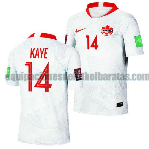 segunda camiseta canada 2022 mark anthony kaye 14