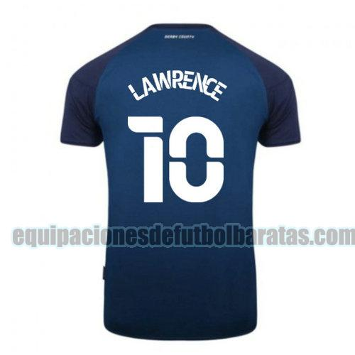 segunda camiseta derby county 2020-2021 lawrence 10