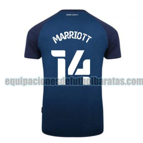 segunda camiseta derby county 2020-2021 marriott 14