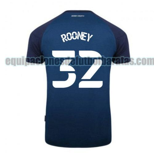 segunda camiseta derby county 2020-2021 rooney 32