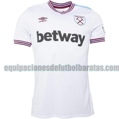segunda camiseta west ham united 2020-2021 tailandia